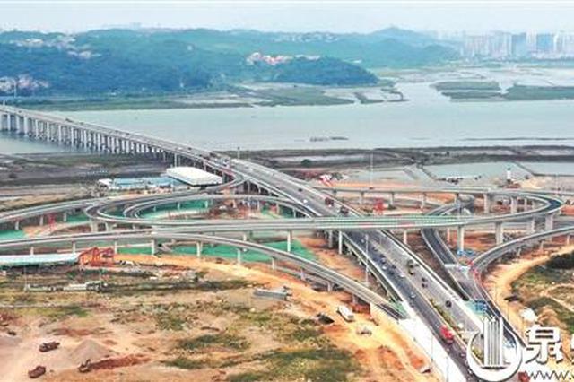 泉州后渚大桥东立交桥正式通车 双向8车道更快捷高效
