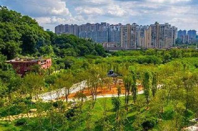 福州登云水库新增逾万平方米生态公园 国庆前建成