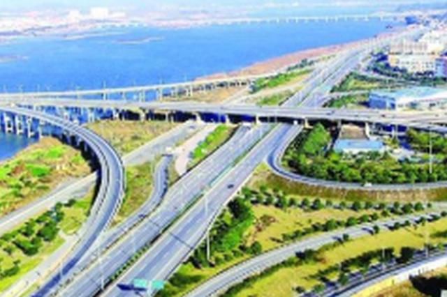 """榕绕城高速东南段主线将建成通车 """"四环""""国庆闭合"""