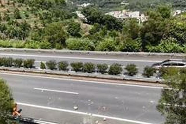 高速路车辆屡遭石头袭击 漳州交警凭一个脚印破案