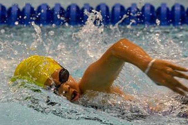 福州市中小学生游泳联赛开赛 赛会多项纪录被打破