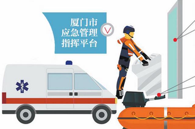 厦门市应急管理指挥平台明年建成 有望达到全省最好