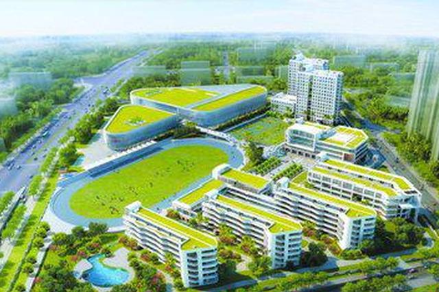 厦门双十中学翔安校区双喜临门 初中部封顶高中部开建