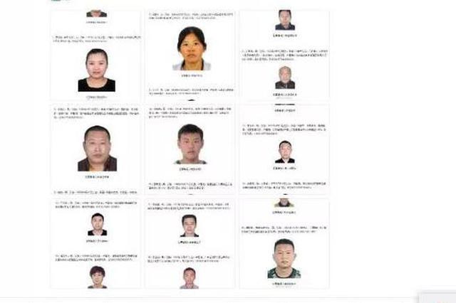 公安部发布A级通缉令公开通缉20名重大黑恶在逃人员 其中两名