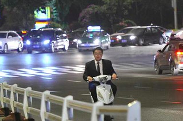 福州城区电动车交通违法行为屡见不鲜