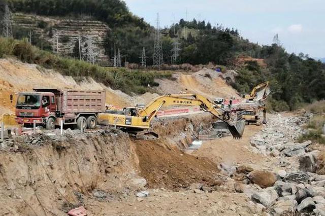 南靖土楼周边项目建设中 助力提升景区周边环境品质