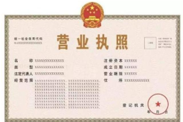 """莆田发放全省首张食品药品""""证照合一""""营业执照"""