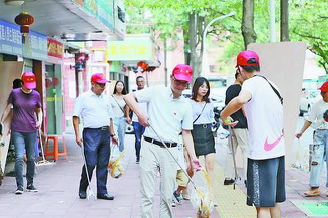 湖里区干部群众积极参与志愿服务 提升公共文明水平