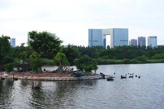 湖里强化污水处理建设 为全面实行河湖长制提供保障