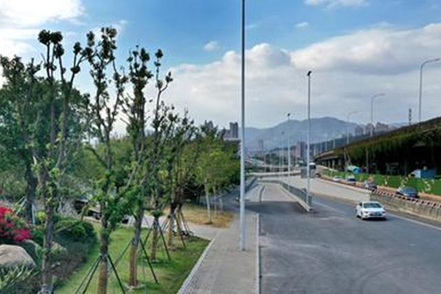 """福州9公里""""花漾三环路""""将新添绿化景观14万平方米"""