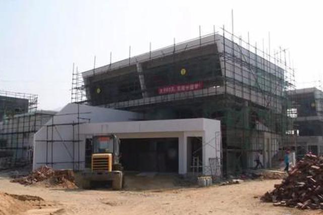 南靖国际艺术教育中心建设刷新进度 预计年底投入使用