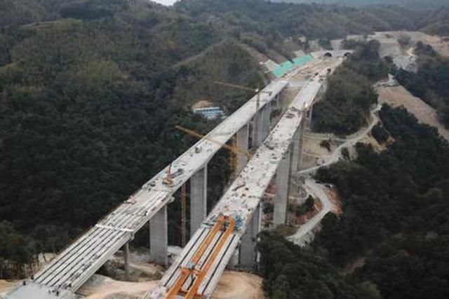 莆炎高速福州段全线贯通 为永泰带来发展机遇