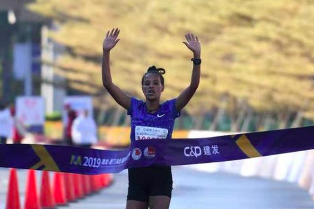 """海沧""""半马""""女子赛会纪录被打破 国内选手获女子季军"""