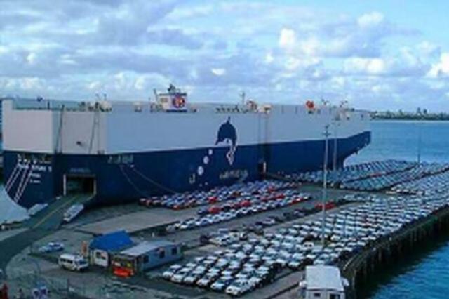 福州自贸片区首次实现滚装船平行进口汽车