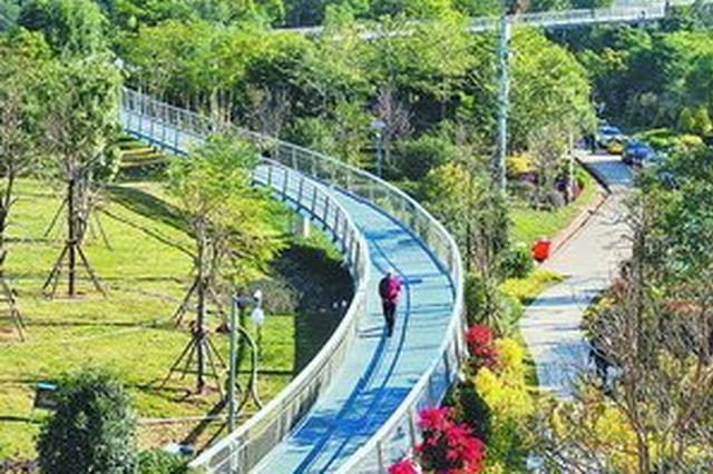 厦门本岛健康步道正式名称出炉 预计元旦对外开放
