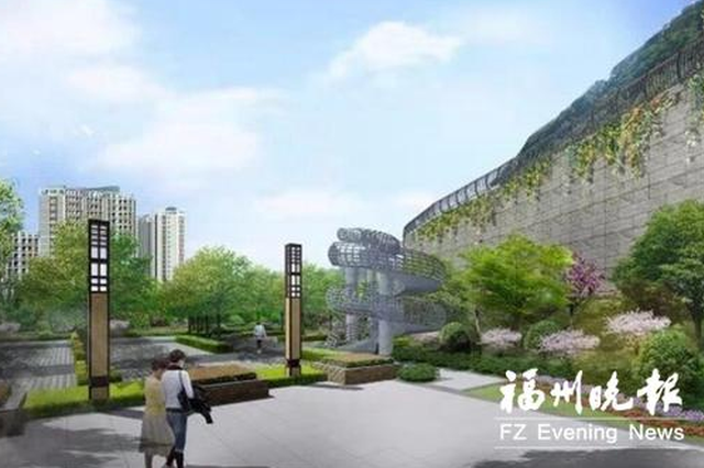 福清动建玉屏山公园 预计一期项目6月左右完工