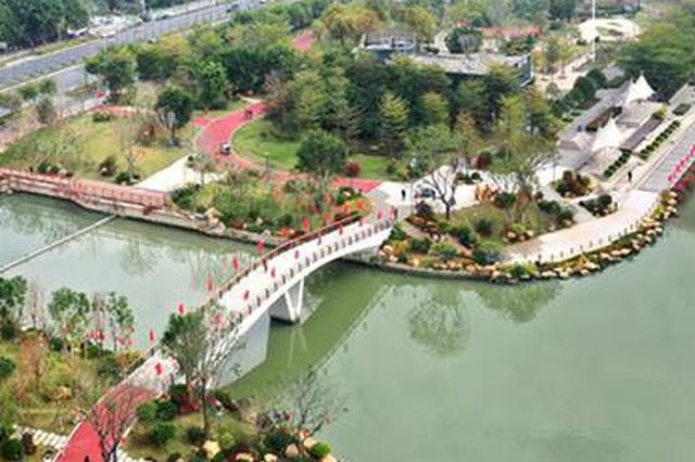 福州光明港沿岸綜合提升基(ji)本jiu)瓿cheng) 與(yu)晉安河串聯