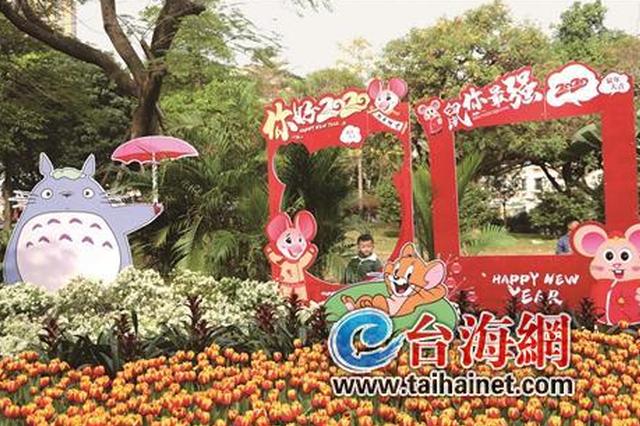 今年漳州新春花展设在中山公园 布展面积达4万平方米