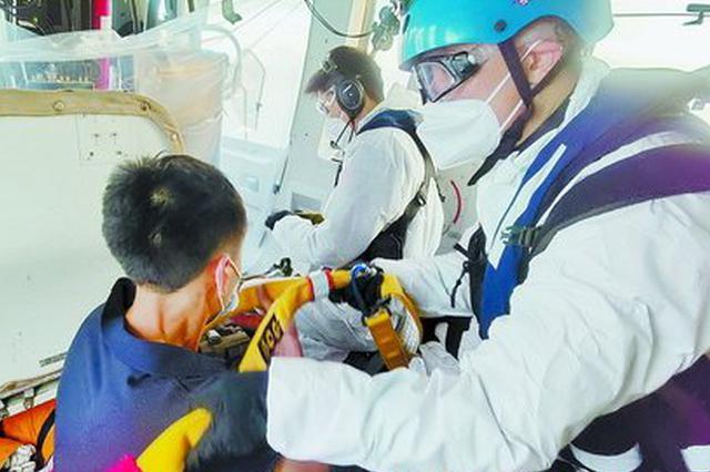 厦门:海外入境船员突发疾病 东二飞紧急救援