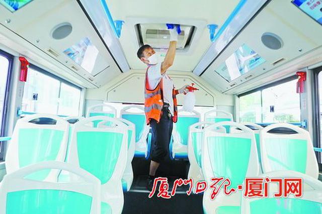 """厦门公交车集体""""洗肺"""" 6月1日起将开启空调"""