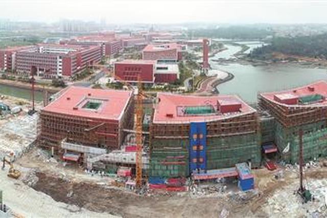 福州大学晋江科教园区项目(二期)科技园A区工程9月竣工