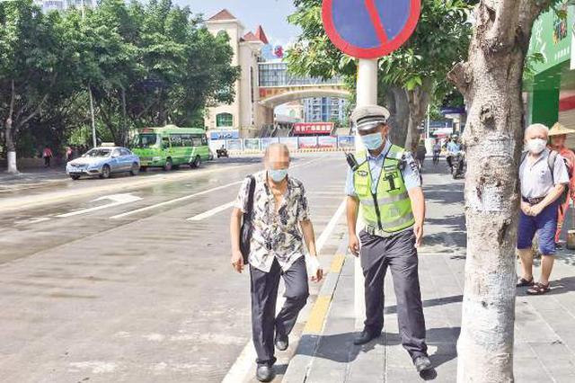 厦门:行人不走斑马线小心被罚款 5月以来查处3550起