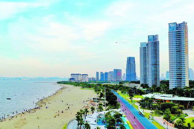厦滨海旅游浪漫线成网红打卡地 3天接待游客20万人次