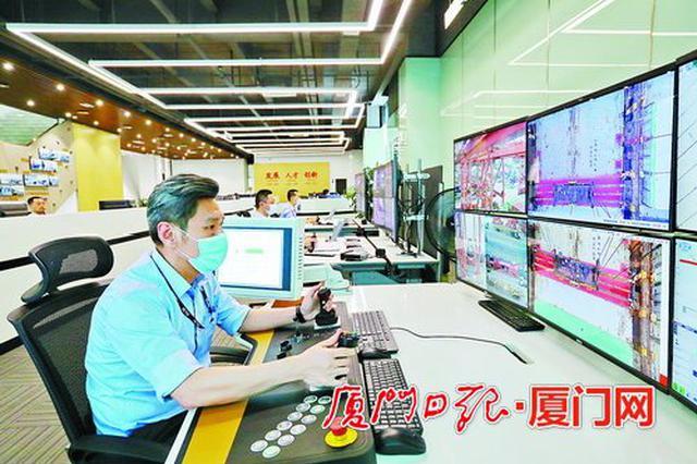 厦门港集装箱码头启动全智能化改造 计划2021年底完工