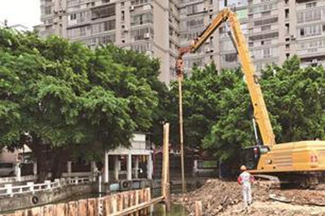 漳州市区最大地下停车场重新动工 预计2022年上半年完成