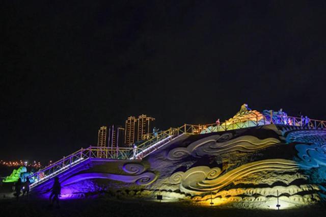 福州平潭沙雕园升级改造完成 现已免费开放