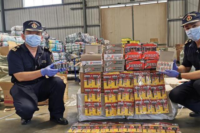 泉州海关查获102万件涉嫌侵权货物 历年来关区查扣量最大
