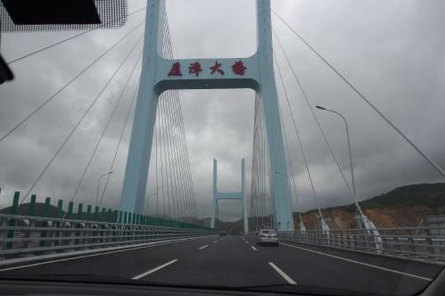 今起厦漳跨海大桥可少抬两次杠 受益车辆1300余辆日