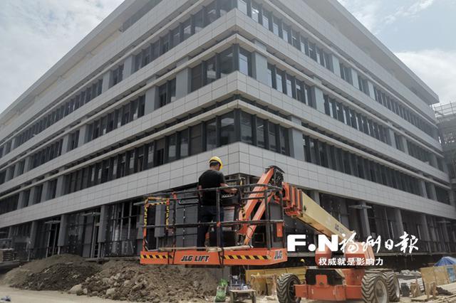 福州滨海新城综合医院一期拟年底建成 设置1000张床位