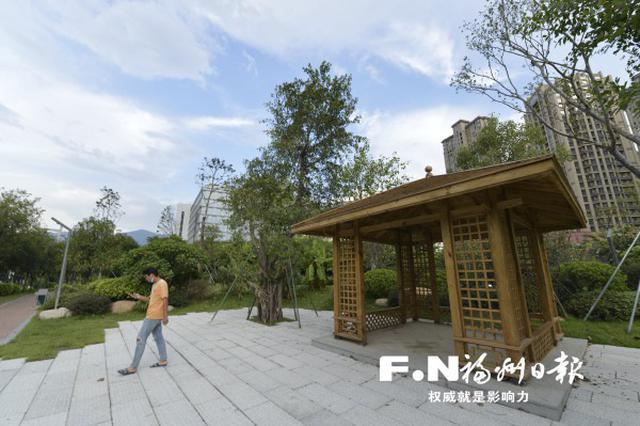 福州南二环沿线二次提升完工 9处串珠公园先后开放