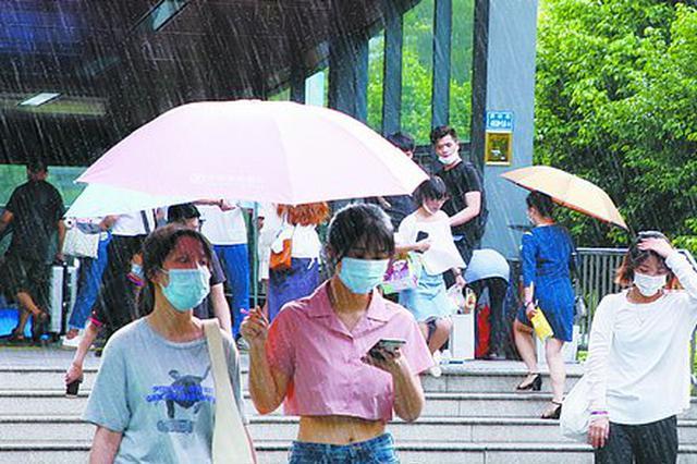 厦门今明两天仍有雨 后天最高气温将降到29℃