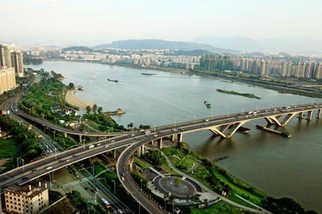 福州东湖大桥项目获批 新城核心区将与火车东站相连