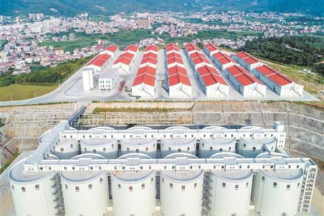 泉州市区中心粮库正式启用 年底将有4万吨储备粮入库