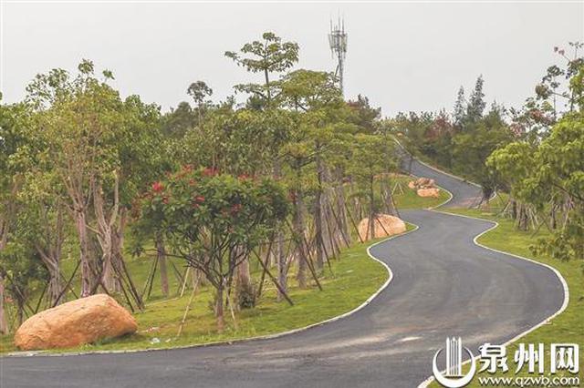 晋江市区最大自然生态公园崎山公园力争国庆开园