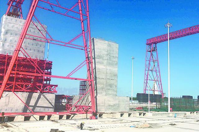 厦第二东通道35座海上墩台已完成7座 将启动海上吊装