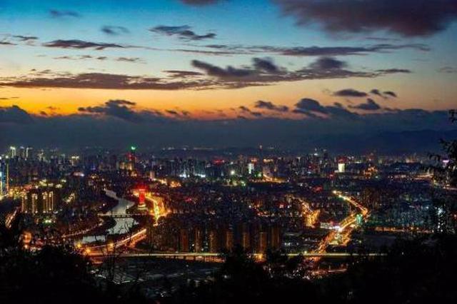 """""""十三五""""期间福州GDP实现一年一千亿元跨越式突破"""