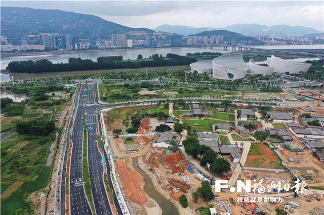 福州螺城路东段建成 将为三江口片区发展舒筋展骨