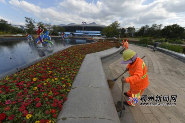 福州为数字中国建设峰会召开营造整洁城市环境