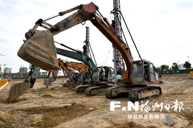 福州滨海新城集中签约集中开工活动亮点纷呈