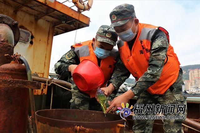 福州海警连续查获3起海上违法案件