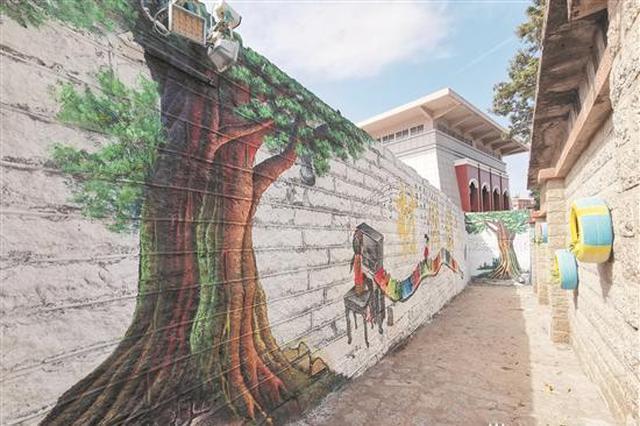 晋江一社区环境整治 脏乱街巷变身网红景点