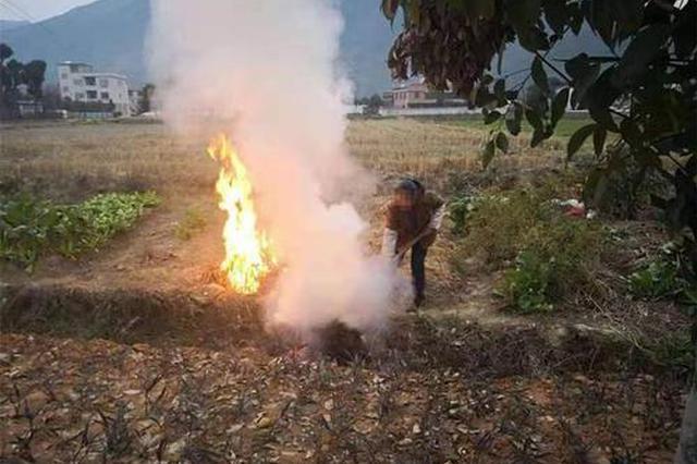泉州:秋冬季节火险等级高 部门提醒严控野外用火