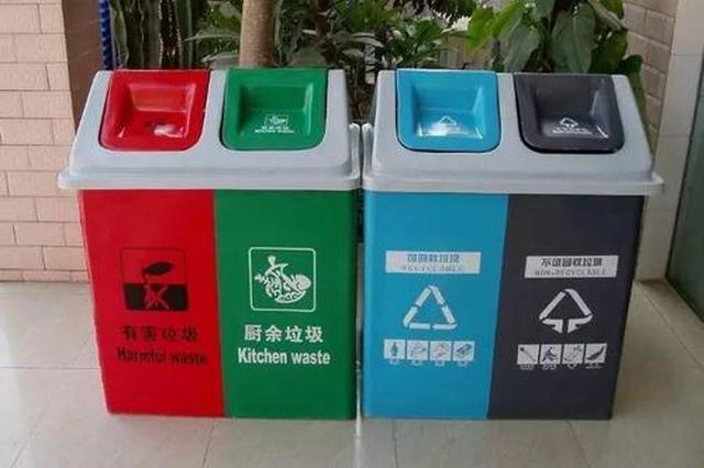 福州垃圾分类水平全国前十 将推进垃圾分类智慧管理