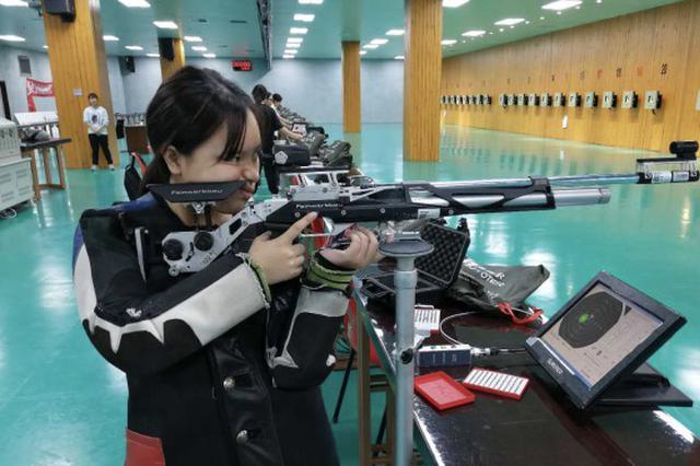 花季少女刘婷玉打破尘封22年之久的福州射击纪录
