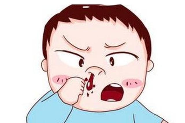 孩子流鼻血 医生:与鼻炎、上呼吸道感染及天气干燥有关