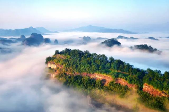 旅游好去处!福建这些云海奇景媲美黄山